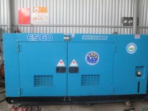 máy phát điện phục vụ người dân sau bão haiyan
