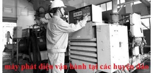 vận hành máy phát điện tại côn đảo
