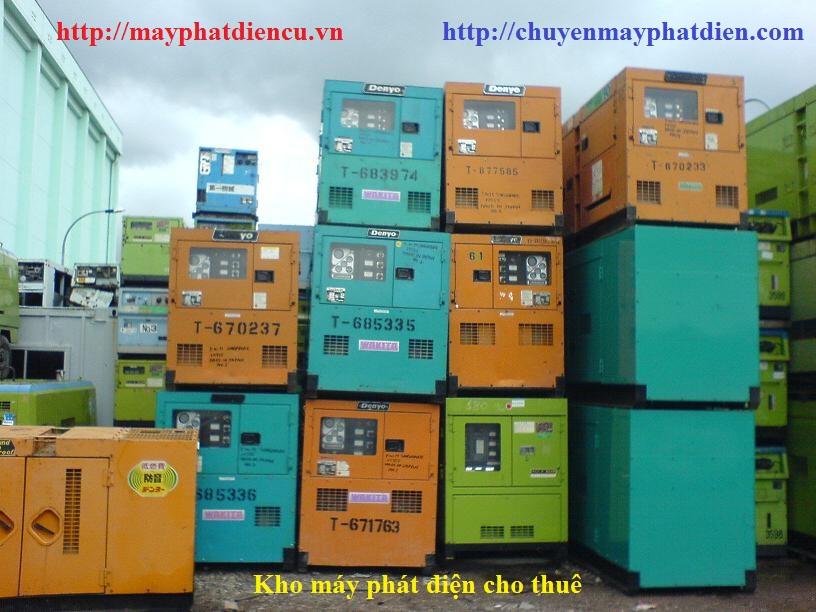 dịch vụ cho thuê máy phát điện nhật bãi