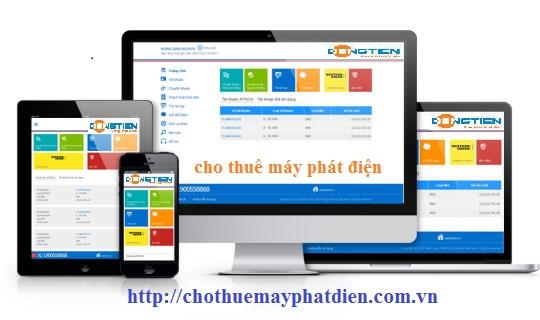 Giao diện di động cho website
