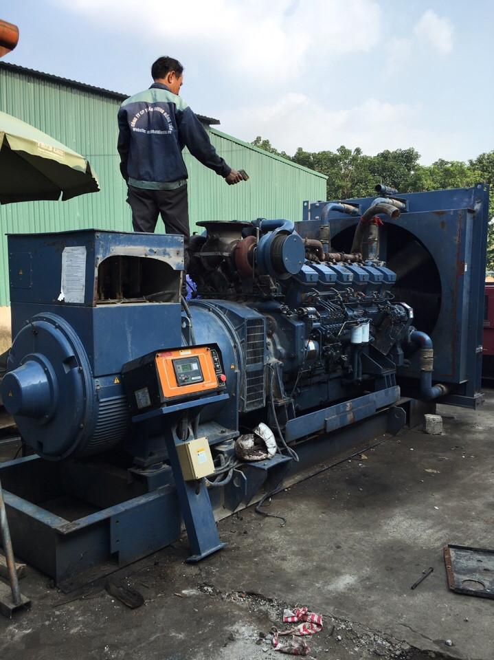 máy phát điện mitsubishi 1500 kva