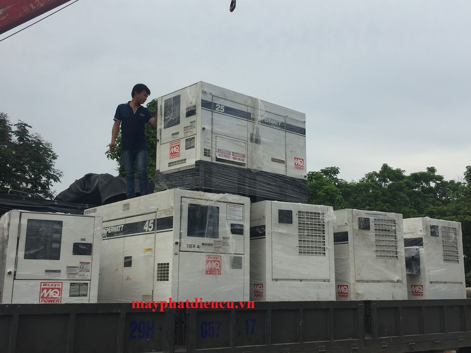 báo giá cho thuê máy phát điện