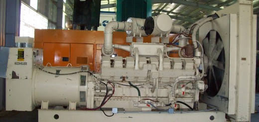 máy phát điện cỡ lớn đến Crimea