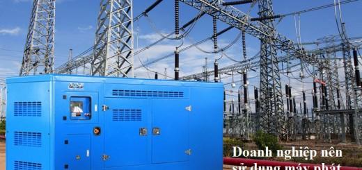 doanh nghiệp nên sử dụng máy phát điện dự phòng