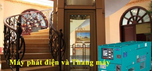 mối quan hệ giữa thang máy và máy phát điện